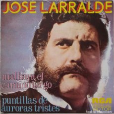Discos de vinilo: JOSE LARRALDE. MALHAYA EL CAMINO LARGO. SINGLE ESPAÑA. Lote 221639085