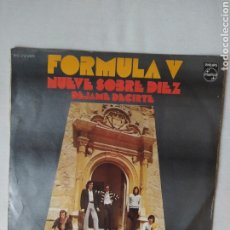 Discos de vinilo: FÓRMULA V-NUEVE SOBRE DÍEZ-SINGLE 1971.. Lote 221641681