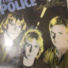 Discos de vinilo: POLICE LP. Lote 221642688