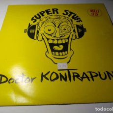 Discos de vinilo: MAXI - DOCTOR KONTRAPUNK ?– SUPER STUFF - -EF004 ( VG+ / VG+) SPAIN 1984. Lote 221644220