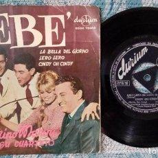 Discos de vinilo: SINGLE MARIANO MARINI Y SU CUARTETO - ¡ÚNICO ENVÍO A FINAL DE MES!. Lote 221644402
