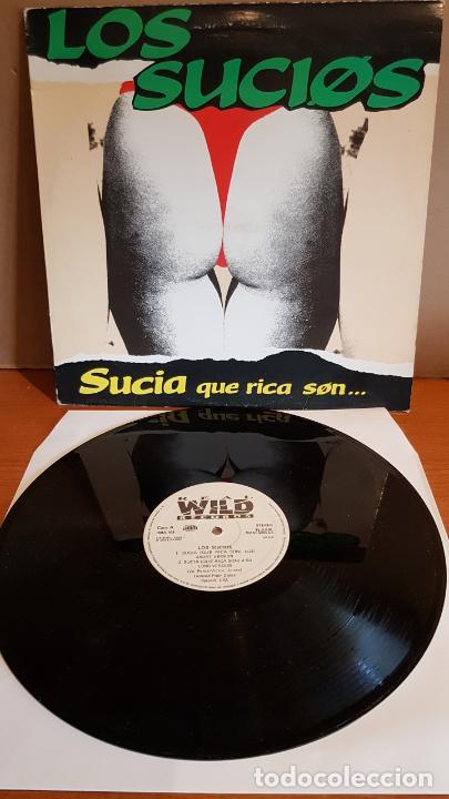 LOS SUCIOS / SUCIA QUE RICA SON / MAXI SG - WILD RECORDS-1990 / MBC. ***/*** (Música - Discos de Vinilo - Maxi Singles - Techno, Trance y House)