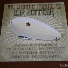 Discos de vinilo: LED ZEPPELIN, THE ULTIMATE TRIBUTO TO. NUEVO,. Lote 221651458