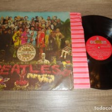 Disques de vinyle: THE BEATLES - SERGEANT PEPPERS LONELY HEARTS CLUB BAND (SPAIN 1967) (LABEL ROJO). Lote 221651817