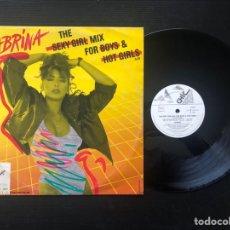 Discos de vinilo: SABRINA – THE SEXY GIRL MIX FOR BOYS & HOT GIRLS. Lote 221652571