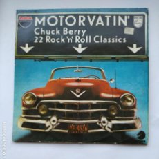 Discos de vinilo: CHUCK BERRY.- MOTORVATIN. DOBLE LP. TDKLP. Lote 221653462