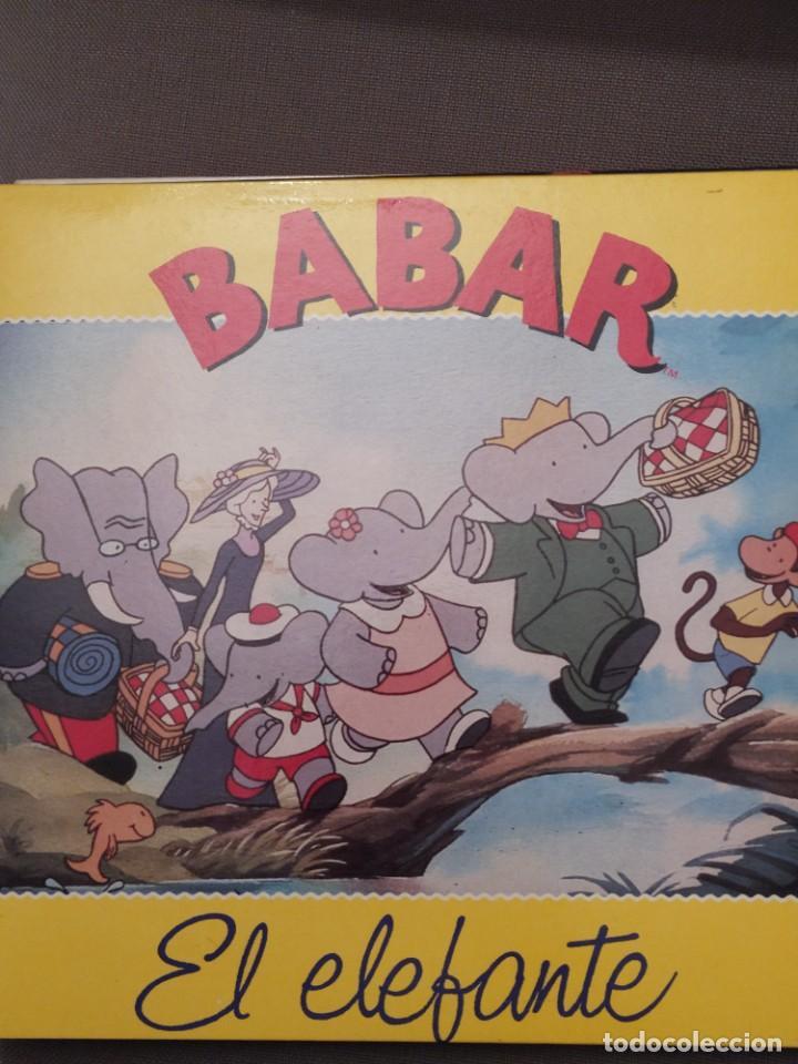 BABAR EL ELEFANTE PDI 1991, NUEVO, INCLUYE LETRAS DE CANCIONES (Música - Discos - LPs Vinilo - Música Infantil)