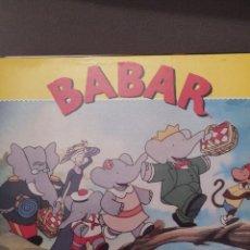 Discos de vinilo: BABAR EL ELEFANTE PDI 1991, NUEVO, INCLUYE LETRAS DE CANCIONES. Lote 221653865