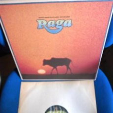 Discos de vinilo: BEATLES GEORGE HARRISON RAVI SHANKAR BANDA SONORA PELICULA RAGA EDITADO POR APPLE RARO COLECCION. Lote 221654600