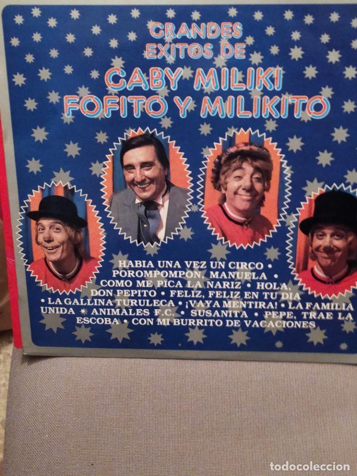 GRANDES EXITOS DE GABY MILIKI FOFITO Y MILIKITO, RCA 198 (Música - Discos - LPs Vinilo - Música Infantil)
