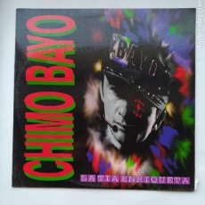 Discos de vinilo: CHIMO BAYO. LA TÍA ENRIQUETA. LP. TDKLP. Lote 221655122