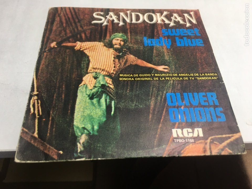 SINGLE - SANDOKAN - SWEET LADY BLUE (Música - Discos - Singles Vinilo - Bandas Sonoras y Actores)