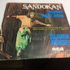 Discos de vinilo: SINGLE - SANDOKAN - SWEET LADY BLUE. Lote 221655525