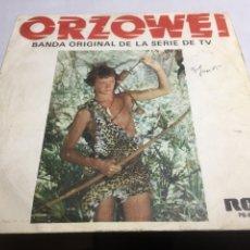 Discos de vinilo: SINGLE - ORZOWEI - BANDA ORIGINAL DE LA SERIE DE TV. Lote 221655833