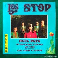 Discos de vinilo: LOS STOP – PATA PATA – EP DE 1968 RF-4597. Lote 221656087