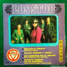 Discos de vinilo: LOS STOP / MOLINO AL VIENTO + 3 / EP DE 1967 RF-4598. Lote 221656277