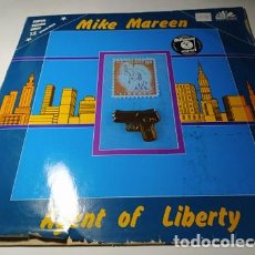 Discos de vinilo: MAXI - MIKE MAREEN ‎– AGENT OF LIBERTY - ZYX 5567 ( VG+/ F) GER 1986. Lote 221657398
