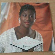 Discos de vinilo: LP MAXI KIM WESTON EMOTION MOTORCITY 1989 ENGLAND. Lote 221657760