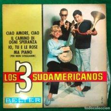 Discos de vinilo: LOS TRES 3 SUDAMERICANOS EP BELTER 1967 - RF-4608. Lote 221658137