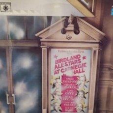 Discos de vinilo: ECHOES OF AN ERA, BIRDLAND ALL STARS AT CARNEGIE HALL LP DOBLE ED ROULETTE DIST MARFER 1977. Lote 221658595