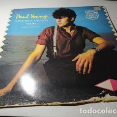 Discos de vinilo: MAXI - PAUL YOUNG ?– COME BACK AND STAY (EXTENDED CLUB MIX )- CBS A 12.3636 ( VG+/ F) SPAIN 1983. Lote 221658728