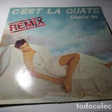 Discos de vinilo: MAXI - CAROL'IN – C'EST LA OUATE (REMIX) -B-MX-1028 ( VG+/ VG+) SPAIN 1987. Lote 221659507