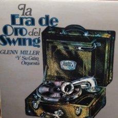 Discos de vinilo: LA ERA DE ORO DEL SWING: -GLENN MILLER Y SU GRAN ORQUESTA MOVIEPLAY 1973. Lote 221660517