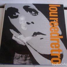 Discos de vinilo: LOU REED – RETRO LP ESPAÑA 1989. Lote 221661061