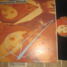 Discos de vinilo: AUSTRALIAN BLONDE AFTERSHAVE (SUBTERFUG RECORDS-1994)+ENCARTE OG ESPAÑA XIXON SOUND CACTUS BAR. Lote 221661425