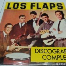 Discos de vinilo: LOS FLAPS--DISCOGRAFIA COMPLETA. Lote 221662683