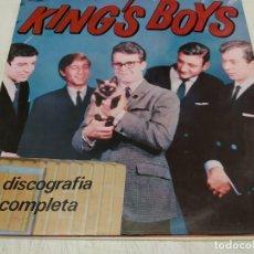 Discos de vinilo: KING'S BOYS-DISCOGRAFÍA COMPLETA. Lote 221663585