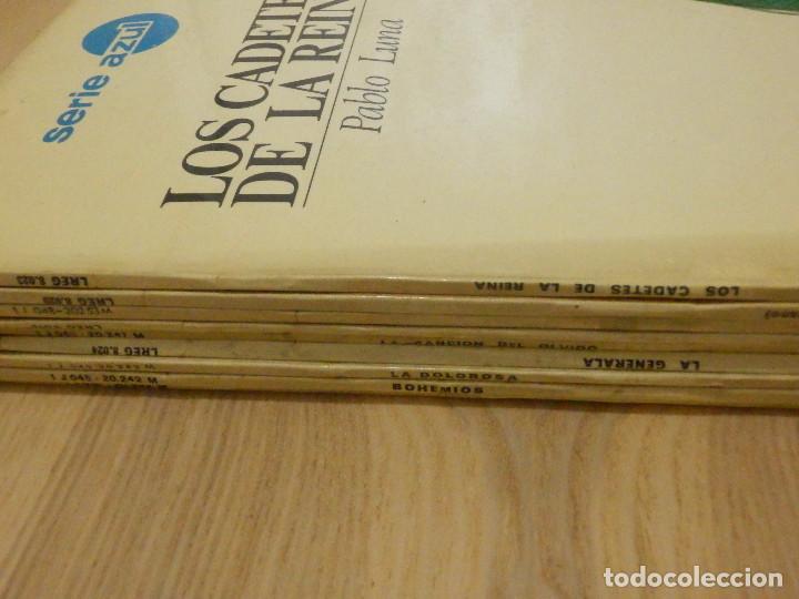 LOTE - COLECCIÓN DISCOS VINILO - ZARZUELAS, ZARZUELA Y OPERA - 9 LP´S - SERIE AZUL, REGAL - EMI - (Música - Discos - LP Vinilo - Clásica, Ópera, Zarzuela y Marchas)
