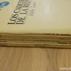 Discos de vinilo: LOTE - COLECCIÓN DISCOS VINILO - ZARZUELAS, ZARZUELA Y OPERA - 9 LP´S - SERIE AZUL, REGAL - EMI -. Lote 221663882