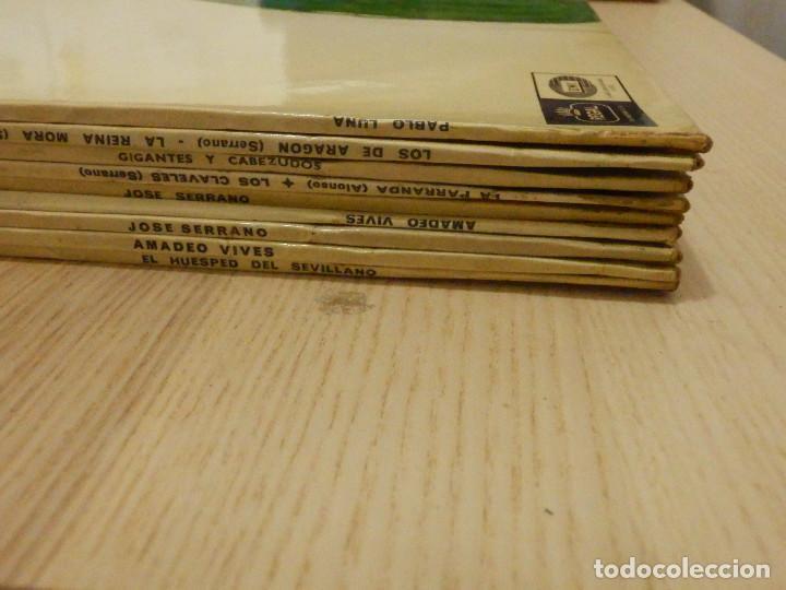 Discos de vinilo: Lote - Colección Discos Vinilo - Zarzuelas, Zarzuela y Opera - 9 Lp´s - Serie Azul, Regal - Emi - - Foto 2 - 221663882