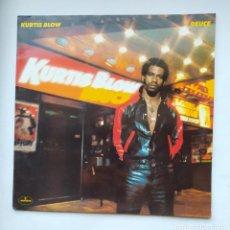 Discos de vinilo: KURTIS BLOW. - DEUCE LP. TDKLP. Lote 221664538