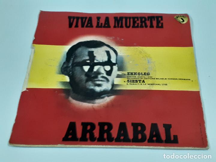 Discos de vinilo: ARRABAL VIVA LA MUERTE (3456) - Foto 2 - 221664820