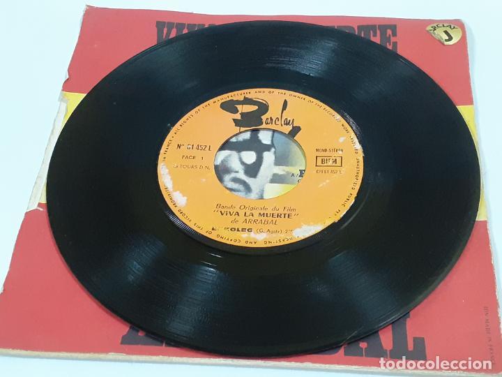 Discos de vinilo: ARRABAL VIVA LA MUERTE (3456) - Foto 4 - 221664820