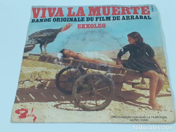 ARRABAL VIVA LA MUERTE (3456) (Música - Discos - Singles Vinilo - Bandas Sonoras y Actores)