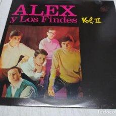Discos de vinilo: ALEX Y LOS FINDES-HISTORIA DE LA MÚSICA POP ESPAÑOLA - VOL. 2. Lote 221665088