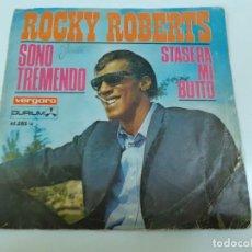 Discos de vinilo: ROCKY ROBERTS (3470). Lote 221668015