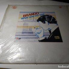 Discos de vinilo: MAXI - BRANDO ?– WHAT NOW MY LOVE - VIC-84 ( VG+/ VG+) SPAIN 1983. Lote 221668167