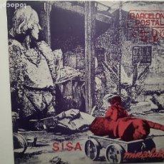 Discos de vinilo: SISA- MIRALDA- LP 1982 + ENCARTE + POSTALES- VINILO COMO NUEVO.. Lote 231429485