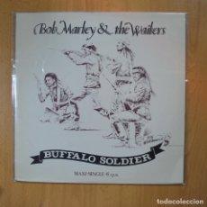 Discos de vinilo: BOB MARLEY & THE WAILERS - BUFFALO SOLDIER - MAXI. Lote 221680491