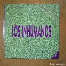 Discos de vinilo: LOS INHUMANOS - ALELUYA MIX - MAXI. Lote 221680515