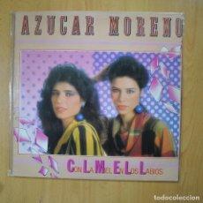 Discos de vinilo: AZUCAR MORENO - CON LA MIEL EN LOS LABIOS - LP. Lote 221680786
