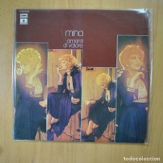 Discos de vinilo: MINA - AMANTI DI VALORE - LP. Lote 221680833