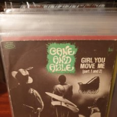 Discos de vinilo: CANE AND ABLE / GIRL YOU MOVE ME / EPIC 1972. Lote 221682981