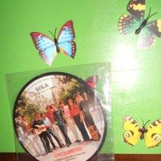 Discos de vinilo: OIKOUMENE - SOLA / NO VIVAS POR VIVIR, CANTA COMO YO - SINGLE PICTURE - FESTIVAL BENIDORM ETC....... Lote 221684555