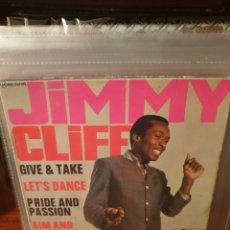 Discos de vinilo: JIMMY CLIFF / GIVE AND TAKE / EDICIÓN FRANCESA / FONTANA 1967. Lote 221684636