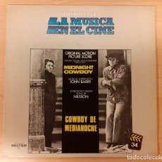 Dischi in vinile: COWBOY DE MEDIANOCHE (MIDNIGHT COWBOY) JOHN BARRY. Lote 221688420